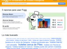 Fogg - Web para comparar hoteles