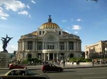 Bellas Artes en La Ciudad de Mexico